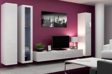 Телевизор в интерьере – свежие решения оформления