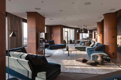 "Дизайн интерьера ""Yogo Apartment"" с железным характером by Sergey Makhno Architects - фото 1"