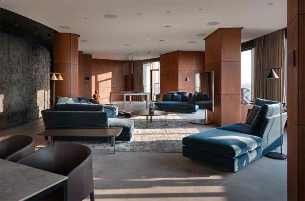 "Дизайн интерьера ""Yogo Apartment"" с железным характером by Sergey Makhno Architects - фото 4"