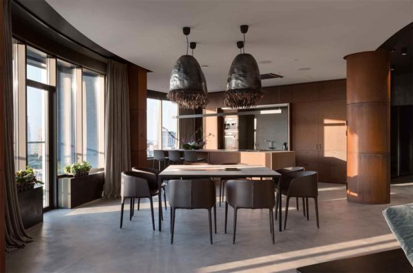 "Дизайн интерьера ""Yogo Apartment"" с железным характером by Sergey Makhno Architects - фото 5"