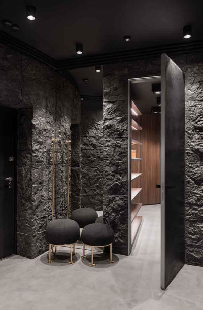 "Дизайн интерьера ""Yogo Apartment"" с железным характером by Sergey Makhno Architects - фото 6"