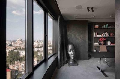 "Дизайн интерьера ""Yogo Apartment"" с железным характером by Sergey Makhno Architects - фото 8"