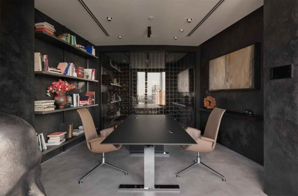 "Дизайн интерьера ""Yogo Apartment"" с железным характером by Sergey Makhno Architects - фото 9"