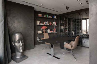 "Дизайн интерьера ""Yogo Apartment"" с железным характером by Sergey Makhno Architects - фото 10"