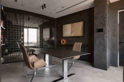 "Дизайн интерьера ""Yogo Apartment"" с железным характером by Sergey Makhno Architects - фото 12"