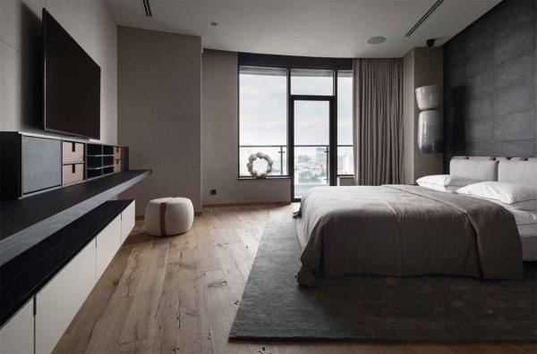 "Дизайн интерьера ""Yogo Apartment"" с железным характером by Sergey Makhno Architects - фото 15"