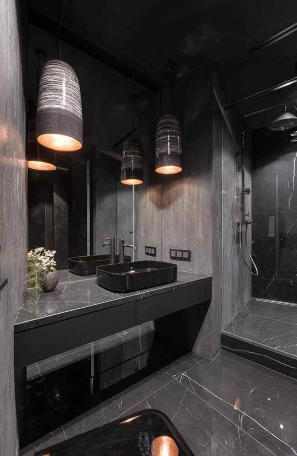"Дизайн интерьера ""Yogo Apartment"" с железным характером by Sergey Makhno Architects - фото 17"