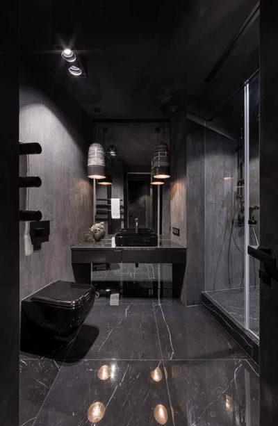"Дизайн интерьера ""Yogo Apartment"" с железным характером by Sergey Makhno Architects - фото 18"