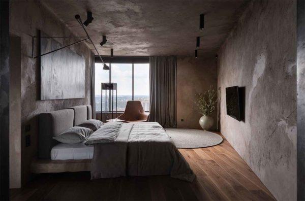 "Дизайн интерьера ""Yogo Apartment"" с железным характером by Sergey Makhno Architects - фото 22"