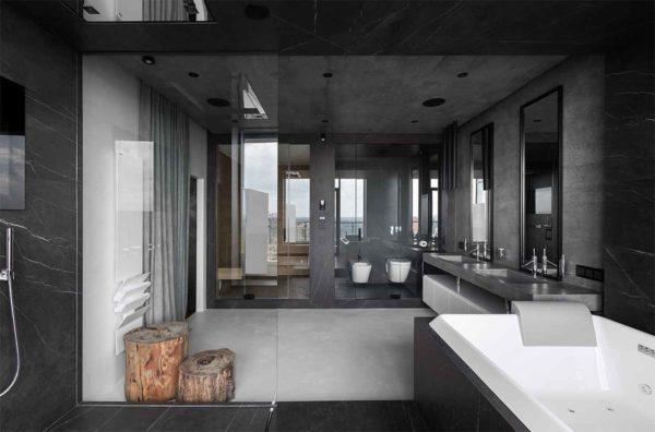 "Дизайн интерьера ""Yogo Apartment"" с железным характером by Sergey Makhno Architects - фото 27"