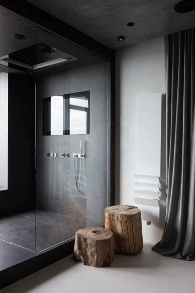 "Дизайн интерьера ""Yogo Apartment"" с железным характером by Sergey Makhno Architects - фото 28"